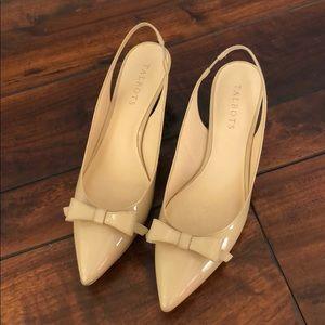 Talbots kitten heel shoes